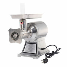Commercial 1HP Heavy Duty 1100W Stainless Steel Electric Meat Grinder Machine