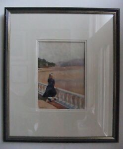 Original - Rob Piercy - Portmeirion Painting - Unique and Signed by the Artist