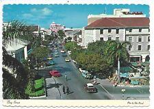 NASSAUA BAHAMAS Bay Street the heart of the Commercial Area  Automobiles