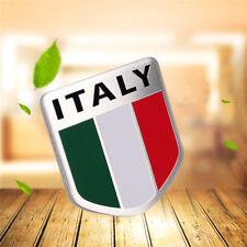 Auto LKW ITALIEN Italienische Flaggen-Schild-Emblem-Abzeichen-Aufkleber 3D