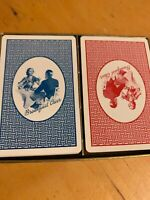 Vintage Brown & Bigelow Breakfast Cheer Playing Cards Deck Pair K5
