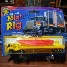 mighty rig welly die cast vintage 90s truck #7