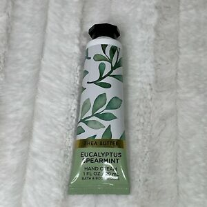 Bath & Body Works Eucalyptus Spearmint Hand Cream Lotion Travel Size Shea 1 Oz