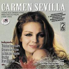 CARMEN SEVILLA- TODAS SUS GRABACIONES EN DISCOS PHILIPS 1959-1965-CD