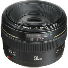 Brand New Canon EF 50mm F/1.4 USM Lens f/ SLR Camera Father's Day Sale