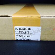 Technics Panasonic National RGS0008 Original Turntable Rubber Sheet Brand New