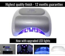 LED Lámpara de uñas de gel curado Profesional 18g 18k 36w