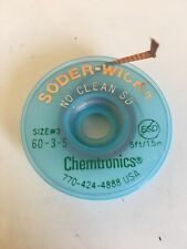Chemtronics+++soder-wick++Original++size 3