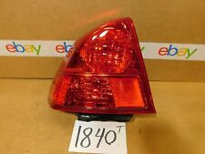 01 02 03 HONDA CIVIC DRIVER Side Tail Light Used Rear Lamp #1840