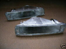 Toyota Landcruiser 80 series Clear Front Indicators NEW pair blinkers