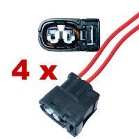 Connecteur bobine d'allumage 1JZ 2JZ 1UZ 4AG 3SG RX7 avec cable (4 x FEMALE) fcc