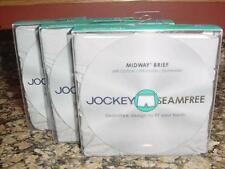 NEW MENS JOCKEY MIDWAY BRIEFS GRAY SZ XL SET OF 3  NEW IN BOX  K139