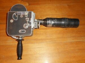 Vintage Paillard Bolex 16mm Film Movie Camera