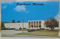 Eisenhower Museum Abilene Kansas Vintage Postcard