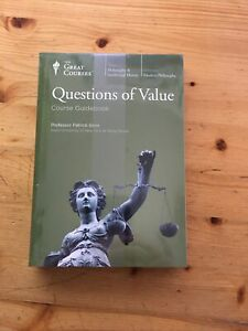 Questions of Value - The Great Courses (Course Guidebook and 4 DVDs) New
