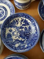"""Blue Willow Bowls Small Vintage Japan 5.25"""""""