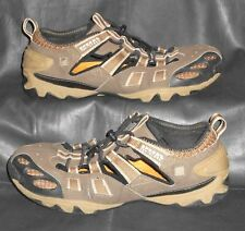 Sperry Top-Sider tan & brown oxfords toggle lace-ups Men's shoes size 9 M