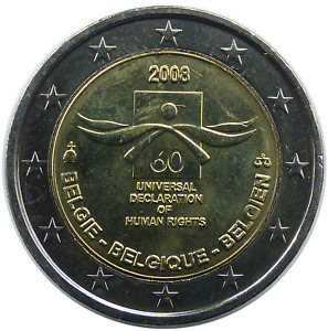 BELGIQUE 2 Euro 2008