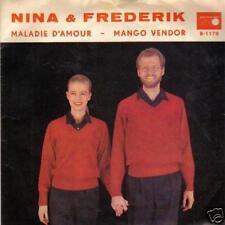 JUKEBOX SINGLE 45 NINA & FREDERIK MALADIE D'AMOUR