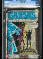 Ghosts #4  CGC  9.4 NM  Universal