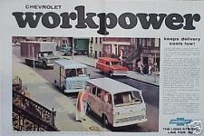 1965 Chevy Panel Truck Van ORIGINAL OLD AD 5+=FREE SHIP CMY STORE MORE GREAT ADS