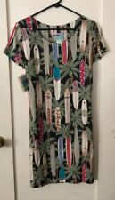Reyn Spooner LONGBOARD PRINT rayon dress size S Short Sleeve NWT