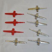 Vtg Bandai GODAIKIN Popy Daltanias Missiles Parts Red & Chrome