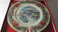 Lenox 2000 Annual Limited Ed Plate Villages Around The World New Ret $86(1Zad-1)