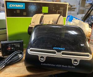 Dymo LabelWriter 450 Twin Turbo Dual Roll Thermal Label & Postage Printer
