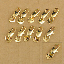 20Pcs Design Jewelry GF Findings 18K Yellow Gold Filled 18KGF Lobster Clasps DIY