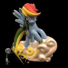 """MY LITTLE Pony RAINBOW DASH 7"""" Vinyl COIN BANK Diamond Select Toys!"""