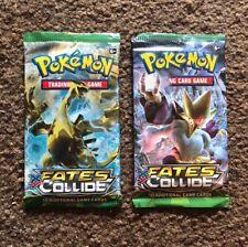 Pokemon XY Fates Collide Booster Pack x2 BRAND NEW Alakazam EX?!