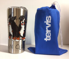 Bernese Mountain Dog Tervis 20oz Stainless Cup - Berner Fan Club Free Shipping