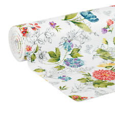 """The Pioneer Woman Blooming Bouquet Non-Adhesive Drawer Shelf Liner 20"""" x 6'"""