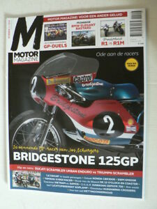 MO1501-BRIDGESTONE 125 GP RACER SCHURGERS,HUSQVARNA MX CROSSERS,SCRAMBLER DUCATI