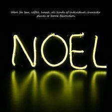 Neon Sign Light Noel Alphabet Coffee Bar Room Wall Decoration Ornament Crafts sQ