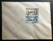1946 New Castle Jamaica  First Day Cover FDC Locally Used Victory Issue