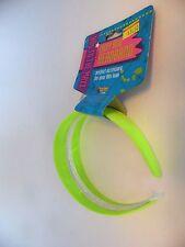 Neon Green Headband 60's School Halloween Costume Hippie Accessory Party
