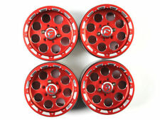 1.9 Alloy Wheels Rim set for 1/10 rc crawler rc car RED 4PCS   B15