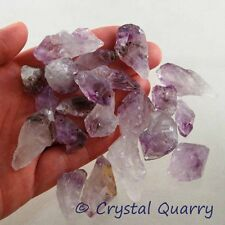20-30 Piece Bag Amethyst Points 1/4 Lb (115g) Purple Quartz Crystal Point Lot