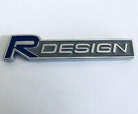 Volvo R DESIGN Metal Badge Logo Wing Rear Boot Emblem XC60 V40 V70 V60 XC90 New