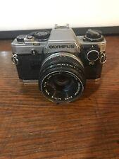 As-Is Olympus OM-10 Classic 35mm Film Camera Zuiko 1.8 50mm Auto-S Lens