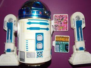 "VTG~1977~1978~Star~Wars~12""~8~Large~Droids~R2D2~figure~doll~death~star~plans~lot"