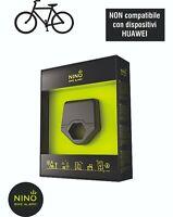 Antifurto bicicletta e MTB Bike NINO Alarm Wireless via Smartphone iOS e ANDROID
