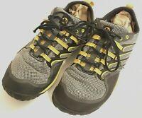 Merrell Mens 13 *(12.5)* Barefoot Trail Glove Smoke/Adventure Yellow Vibram Sole