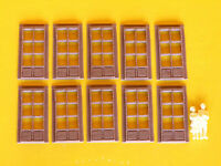 Porte rettangolari per stazione stile Italiano modellismo HO-1:87 pz.10 - Krea