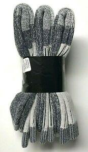 3 Pairs Men Premium  Merino Wool & Acrylic Gray Thermal Crew Sock SZ 10-13.USA.