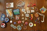 Lot of Vintage Boy Scout Patches & Pins from Whitehall, New York #3, Estate Find
