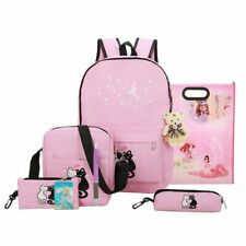Women Backpack Cute Animal Star Printing Canvas Backpack School Bag For Teenager