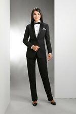 Women's One Button Tuxedo Jacket & Pants set. Prom, Wedding, Formal, Career